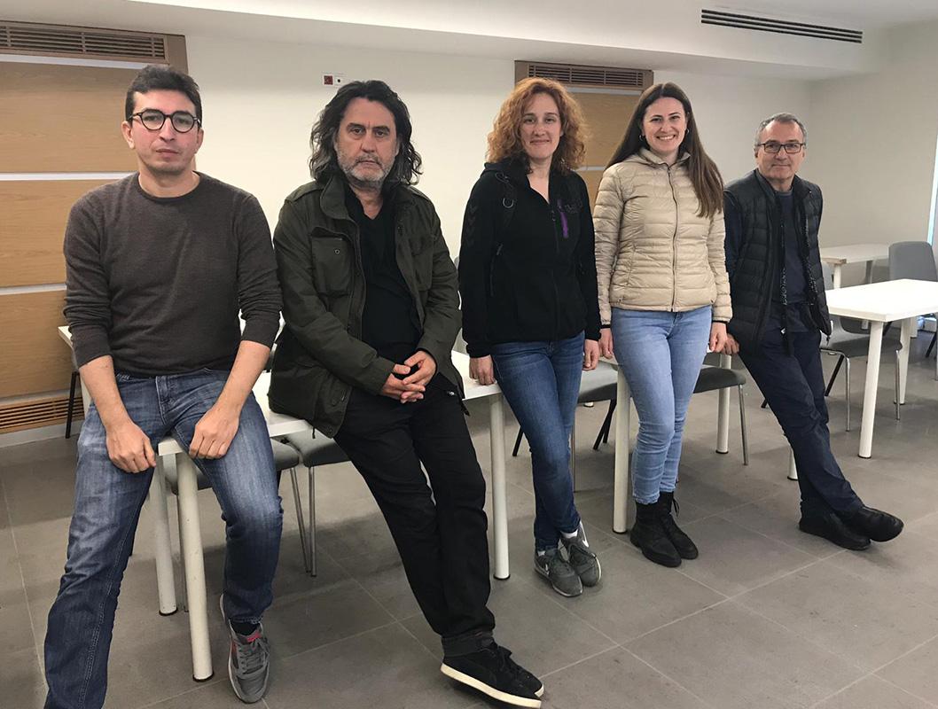 Metin Çavuş, Haluk Çobanoğlu, Elif Gülen, Burcu Böcekler, ve Ömer Orhun