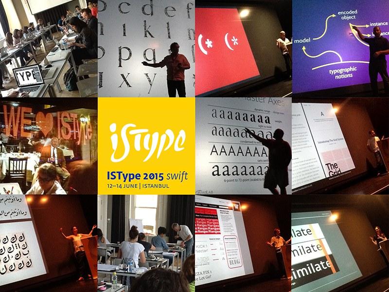 İletişim Tasarımı Özyeğin Üniversitesi, ISType2015 – İstanbul Tipografi Seminerleri