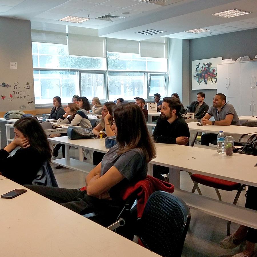 The Design Kids: Presentation and Workshop / Sunum ve Atölye - İletişim Tasarımı Özyeğin Üniversitesi